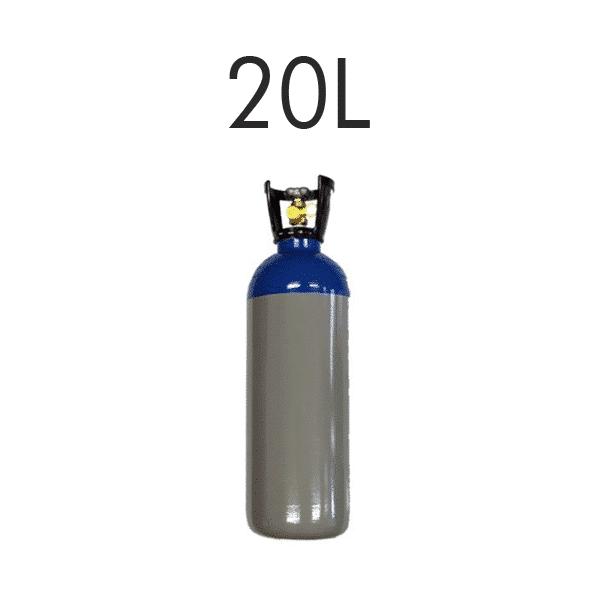 Lachgasbehälter 20L (15kg)